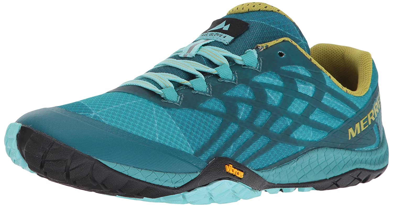 Merrell Women's Glove 4 Trail Runner B01N4R38RN 6 B(M) US|Baltic