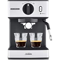Sunbeam EM3820 Café Espresso II Coffee Machine | Espresso, Latte & Cappuccino Coffee Maker| 1.7L Water Tank | Milk…