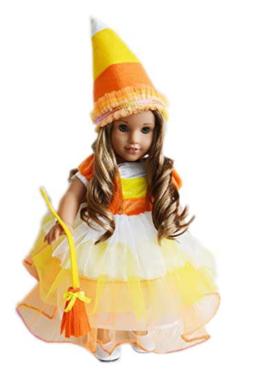 my s candy corn witch costume for
