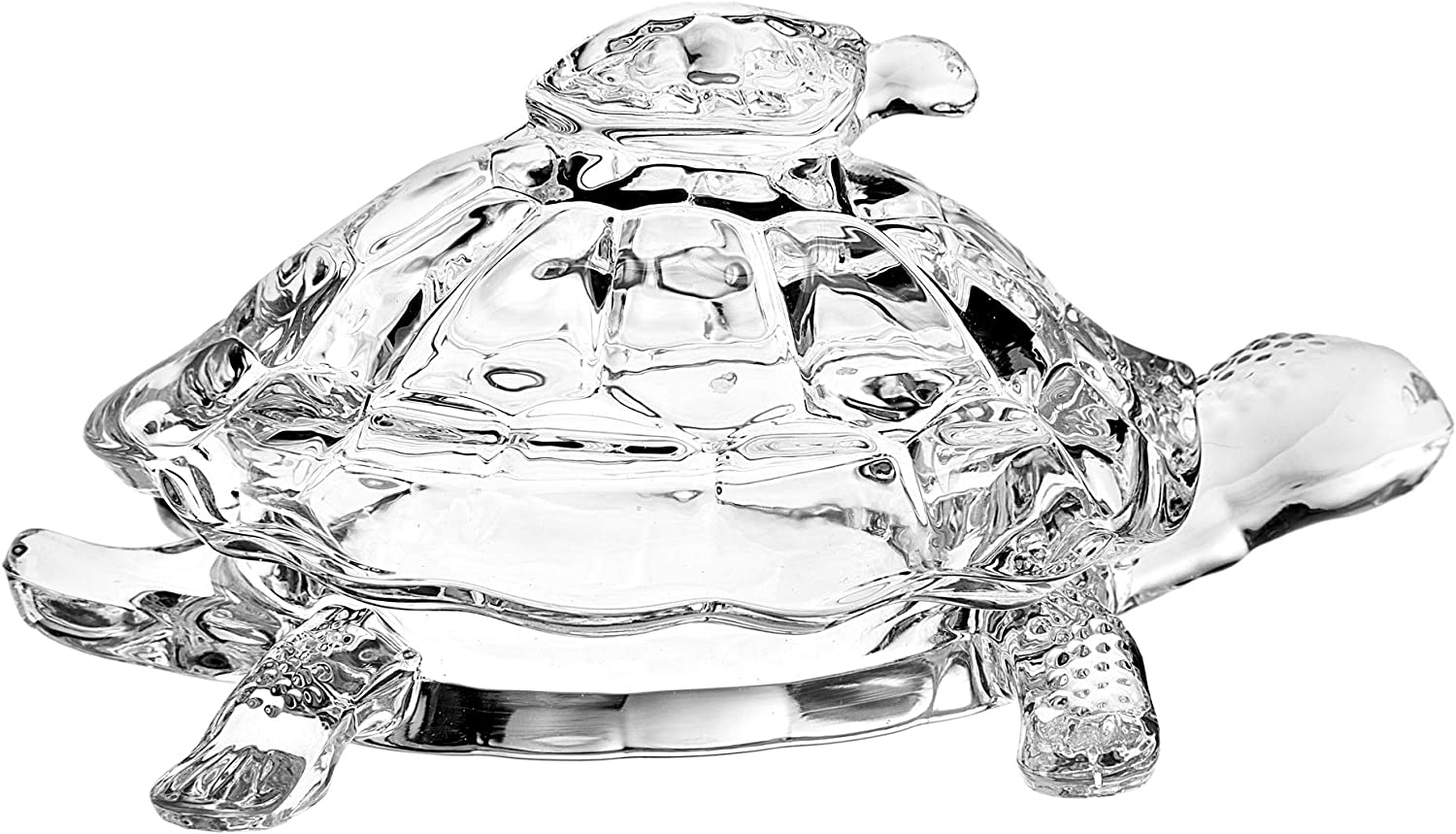 STUDIO SILVERSMITHS Crystal Turtle Candy Box