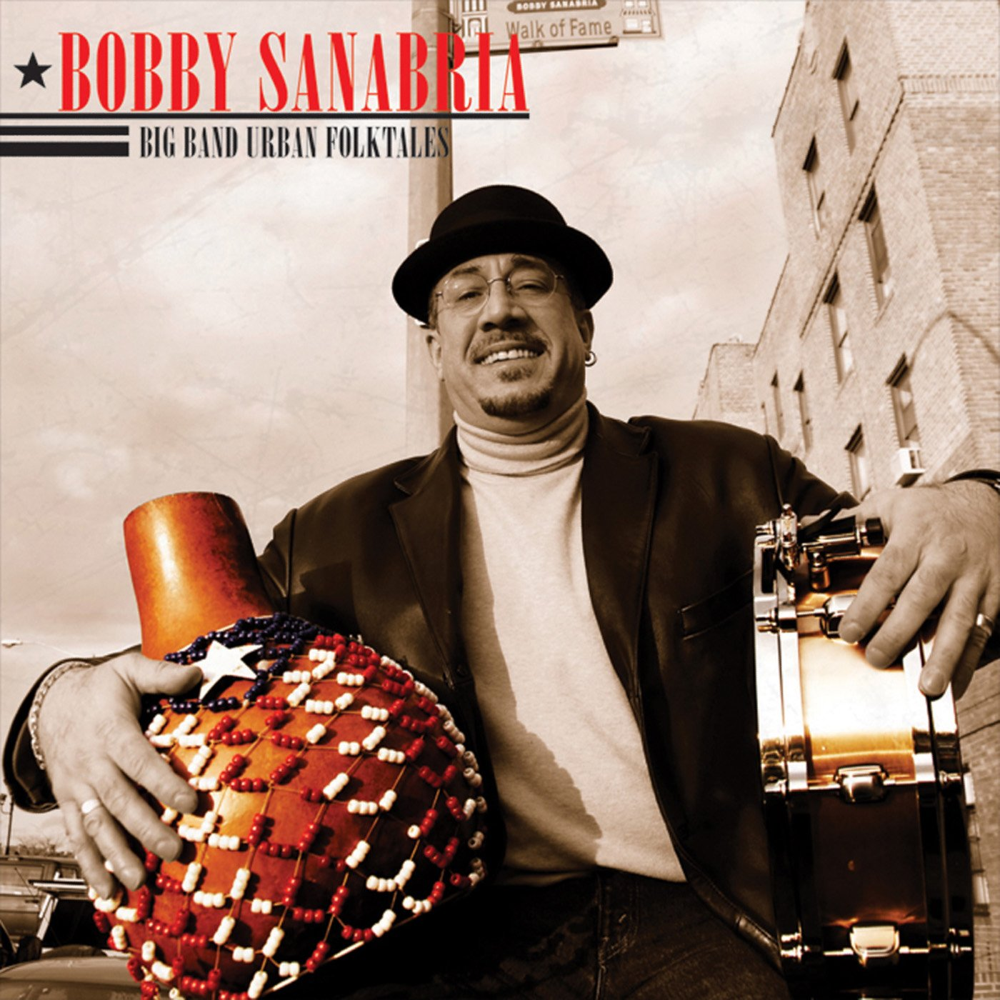 CD : Bobby Sanabria - Big Band Urban Folktales (CD)