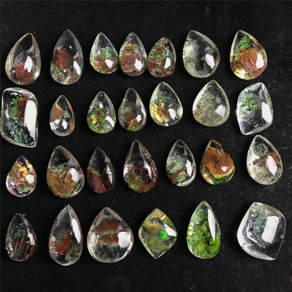 Gota de Agua Natural en Forma de Cristal Cuarzo Piedras Preciosas curación curación espécimen de Piedra Reiki Chakra Terapia de meditación estatuilla Amuleto de protección (1 unids)