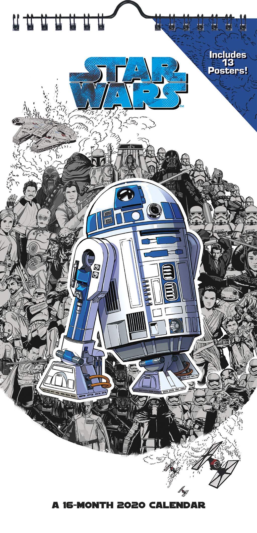 Star Wars 2020 Calendar: Amazon.es: Libros en idiomas ...