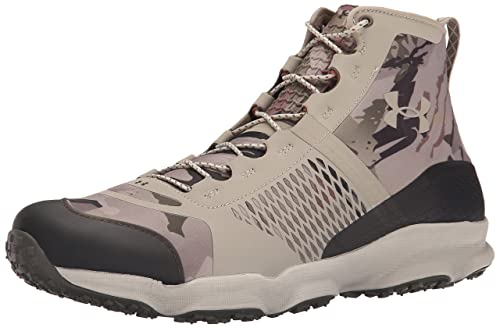 Under Armour Mens Speedfit Hike Mid, Reaper Camo/Highland Buff/Highland Buff,