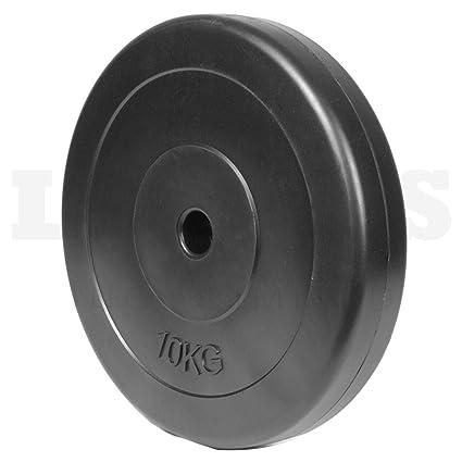 Leones vinilo peso placas estándar 2,54 cm o 2,5 cm mancuernas Barbell Agujero 10 kg, 20 kg, 40 kg, 60 kg, 80 kg, 100 kg Talla:40kg: Amazon.es: Deportes y ...