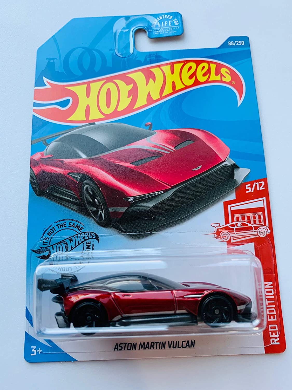 Amazon Com Hot Wheels 2020 Red Edition Astonmartinvulcan 88 250 Toys Games
