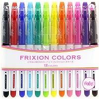 Pilot Frixion Colors, 12 per Set (SFC-120M-12C)