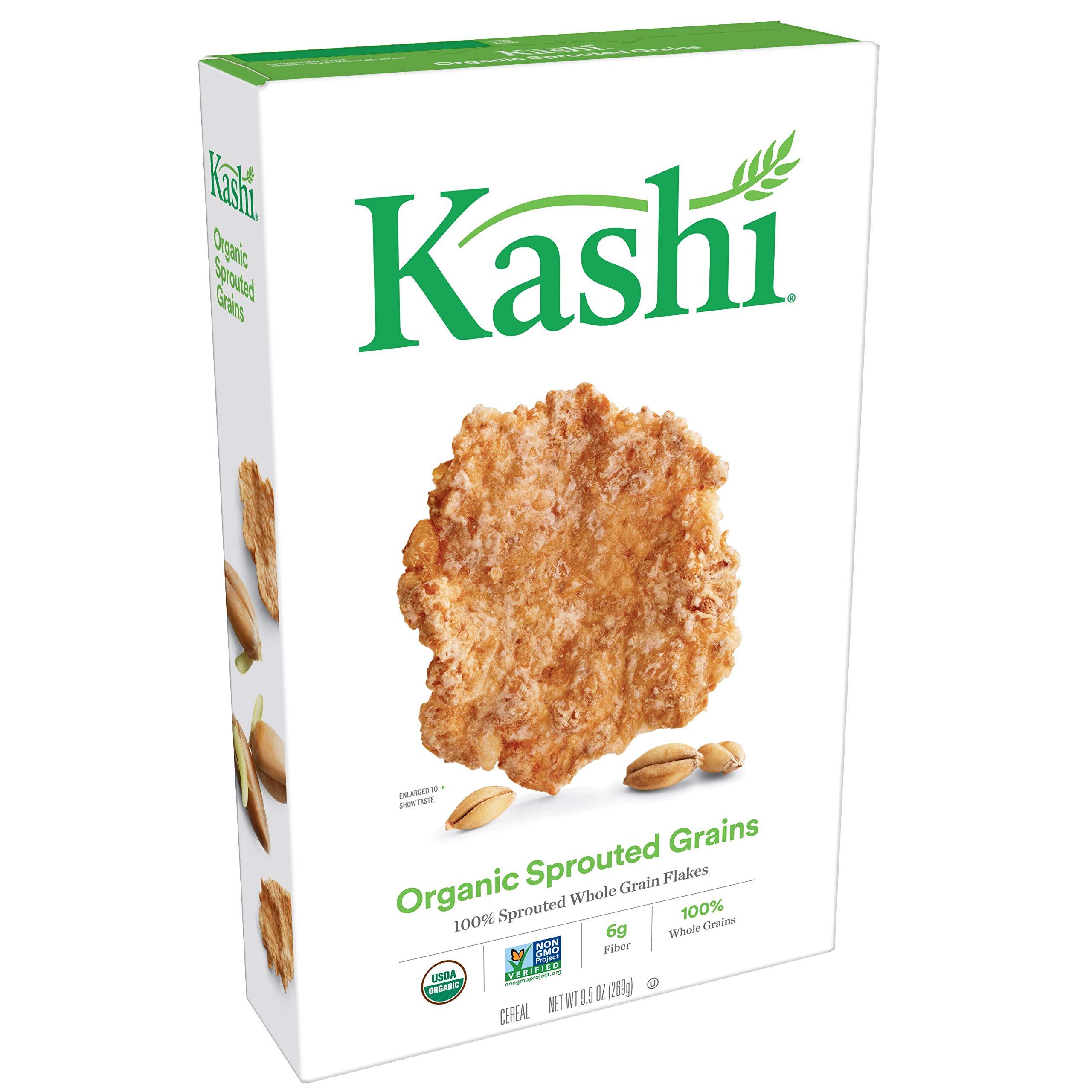 Amazon Com Kashi Breakfast Cereal 7 Whole Grain Flakes
