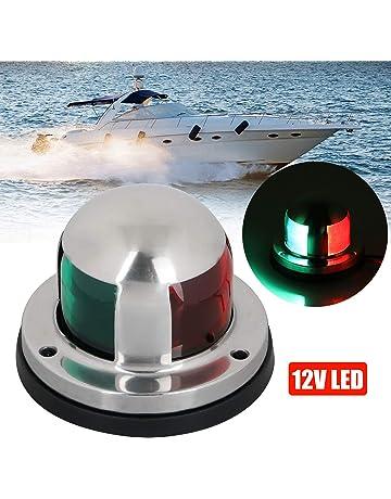 linkstyle 12v marine led boat navigation lights, waterproof marine  navigation lamp marine boat bow lights