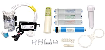 buy complete ro assembling kit with pump membrane smps pre