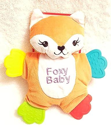 Amazon.com: Mordedor muñeca Kidgets naranja y blanco color ...