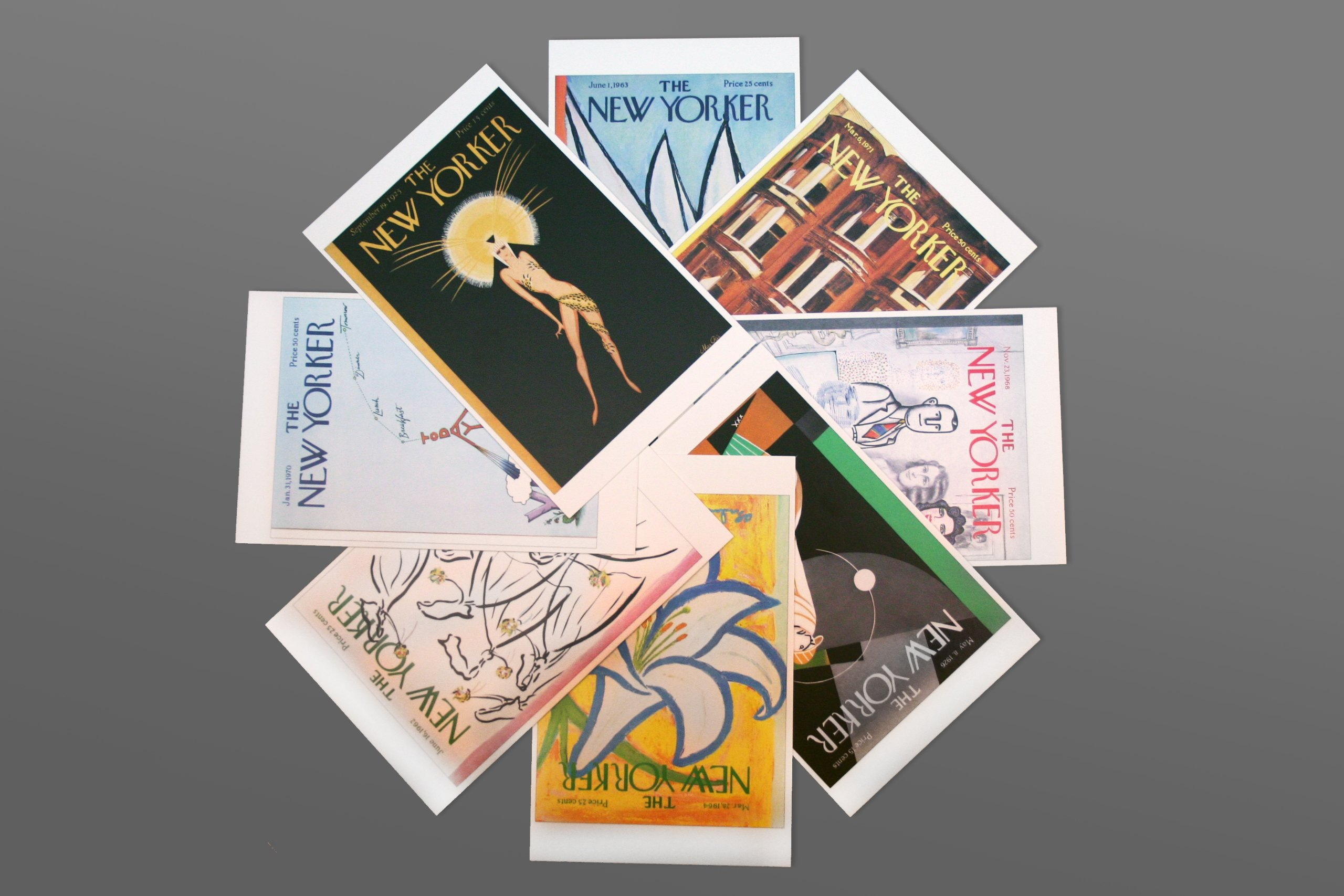Postcards from the New Yorker: One Hundred Covers from Ten Decades by Penguin Books (Image #4)