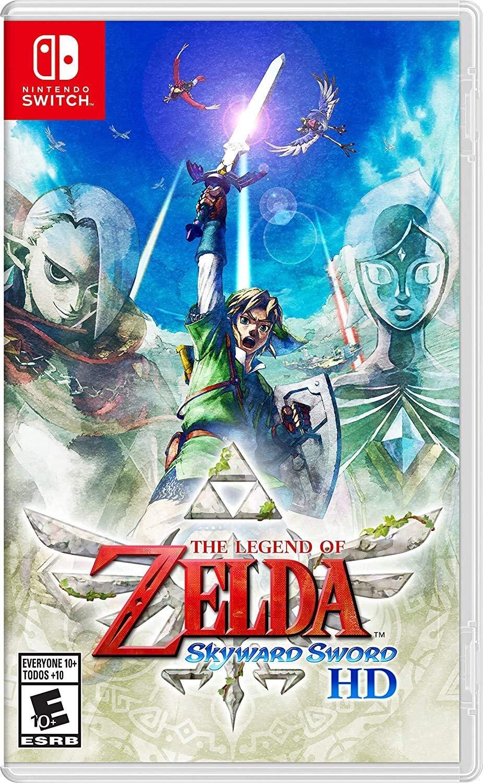 Poster. The Legend of Zelda: Skyward Sword HD