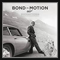 James Bond Officially Licensed 2019 Square Calendar