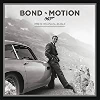 James Bond Officially Licensed 2019 Square Calendar