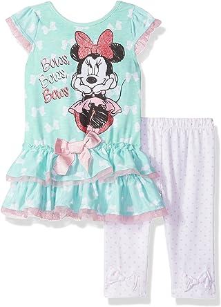 Disney Baby Girls 2 Piece Minnie Mouse Ruffle Bike Set