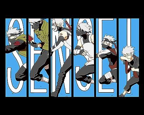 Amazon.com: Naruto Kakashi 1 Póster Anime japonés Manga ...