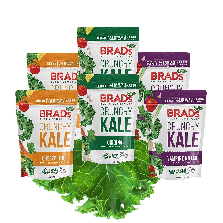 healthy snacks - kale chips