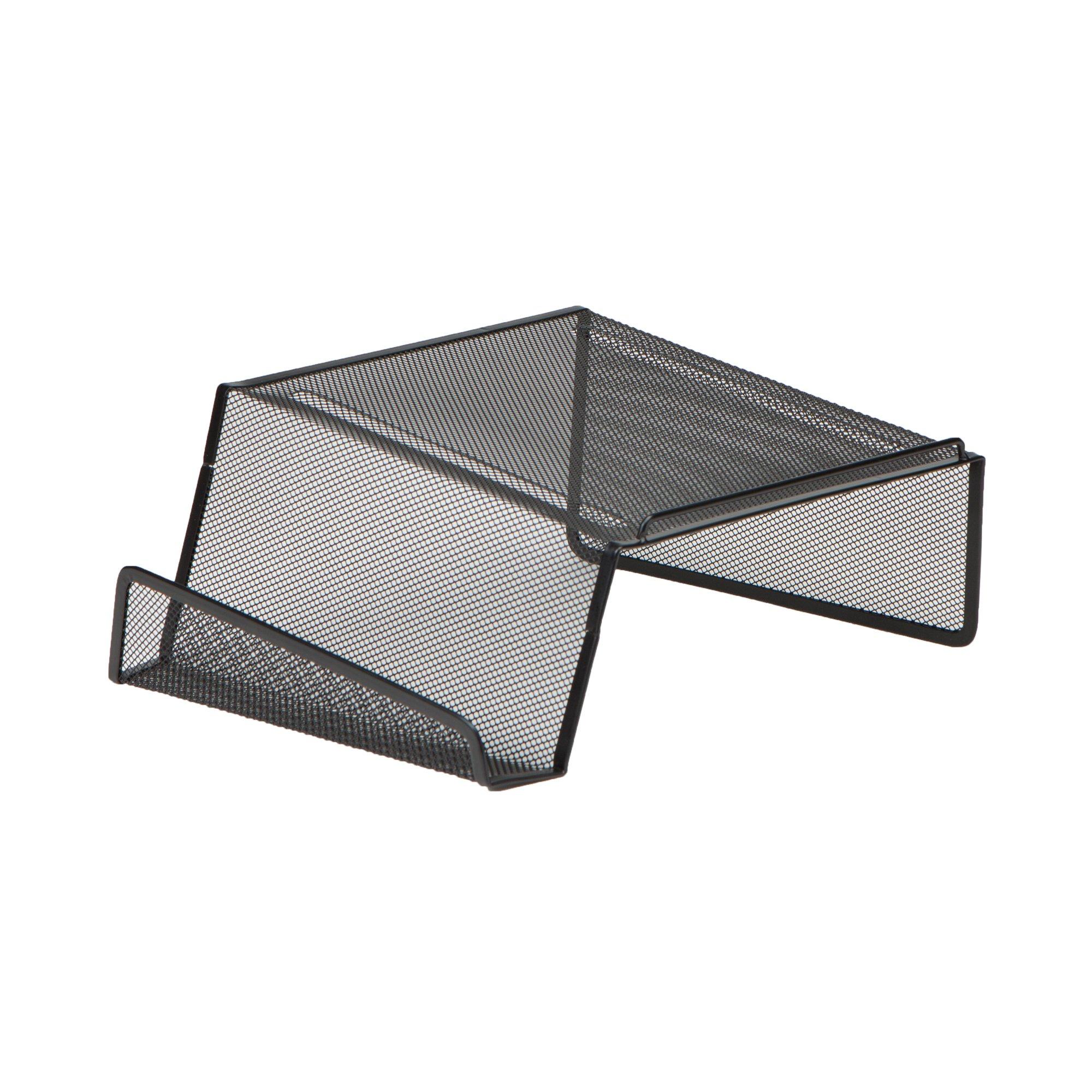 Mind Reader Metal Desktop Phone Stand, 2 Pack, Black by Mind Reader (Image #4)
