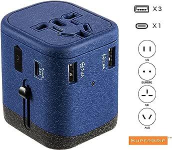 NWKJ,Toma Universal Adaptador Universal Puertos USB