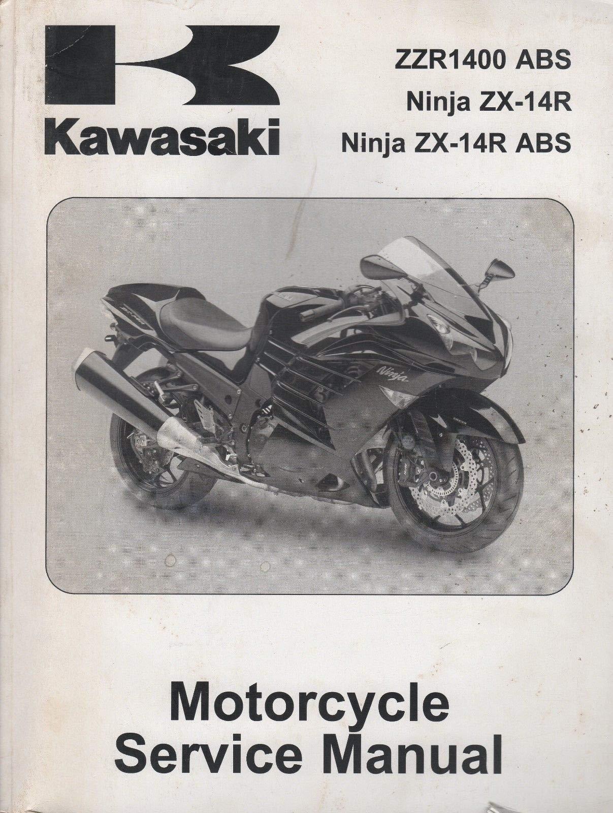 2012 KAWASAKI MOTORCYCLE NINJA ZX-14R ABS SERVICE MANUAL P/N ...