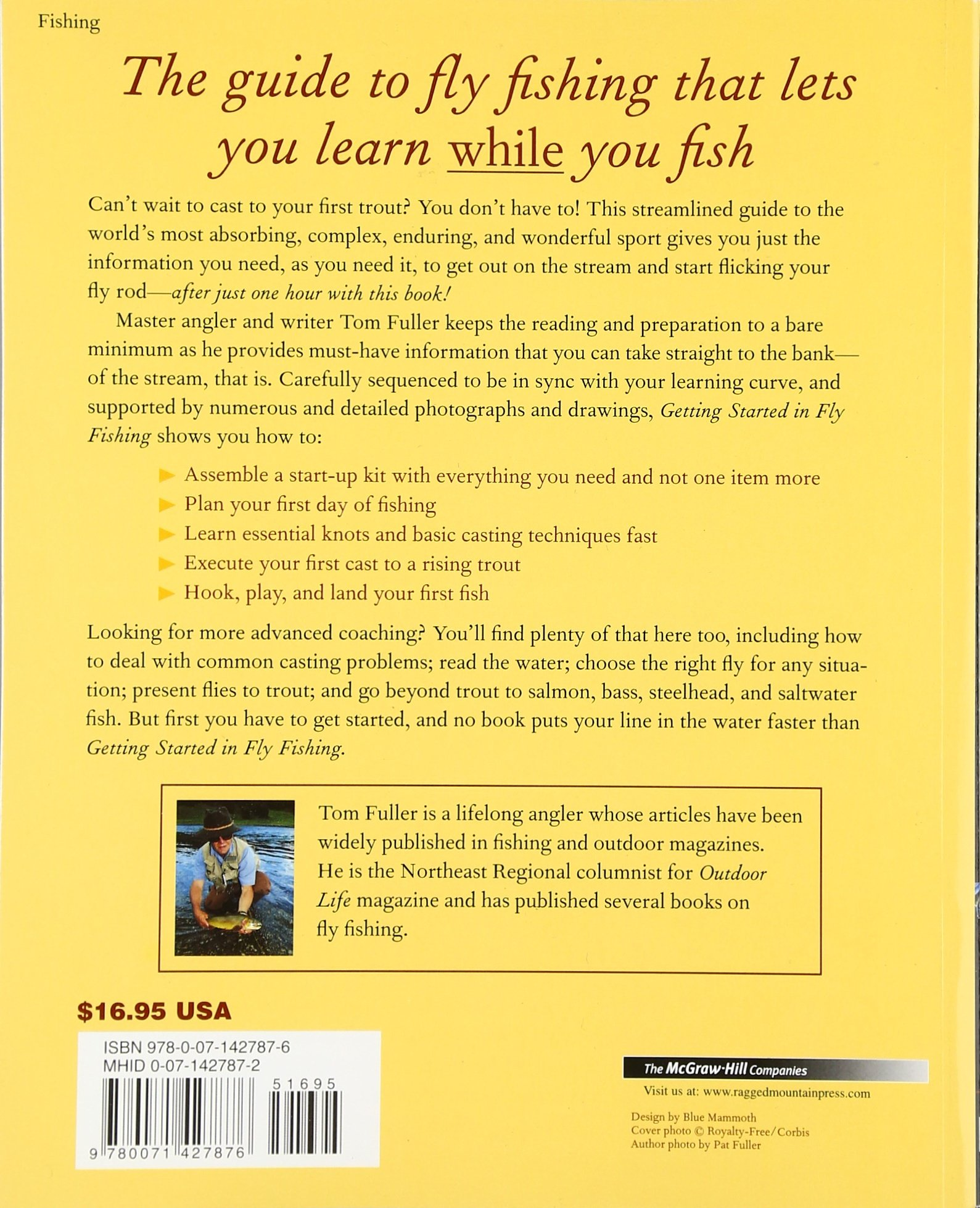 Getting Started In Fly Fishing: Tom Fuller: 0639785803072: Amazon: Books