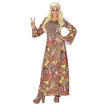 WIDMANN Disfraz de hippie para mujer: Amazon.es: Juguetes y juegos