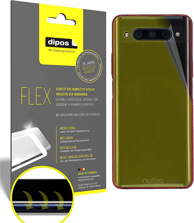 dipos I 3X Protector de Pantalla Compatible con ZTE Nubia Z20 Trasero: Amazon.es: Electrónica