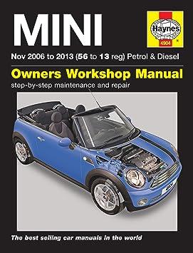 owners manual mini cooper s