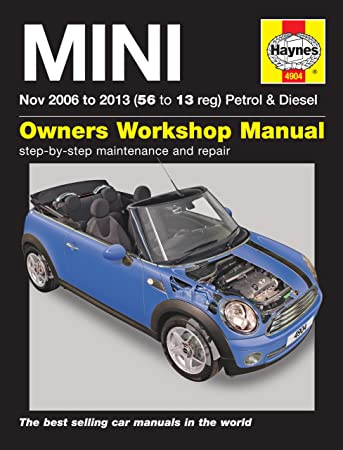 mini repair manual haynes manual service manual workshop manual 2006 rh amazon co uk 2012 Mini Cooper Mini Cooper Type S