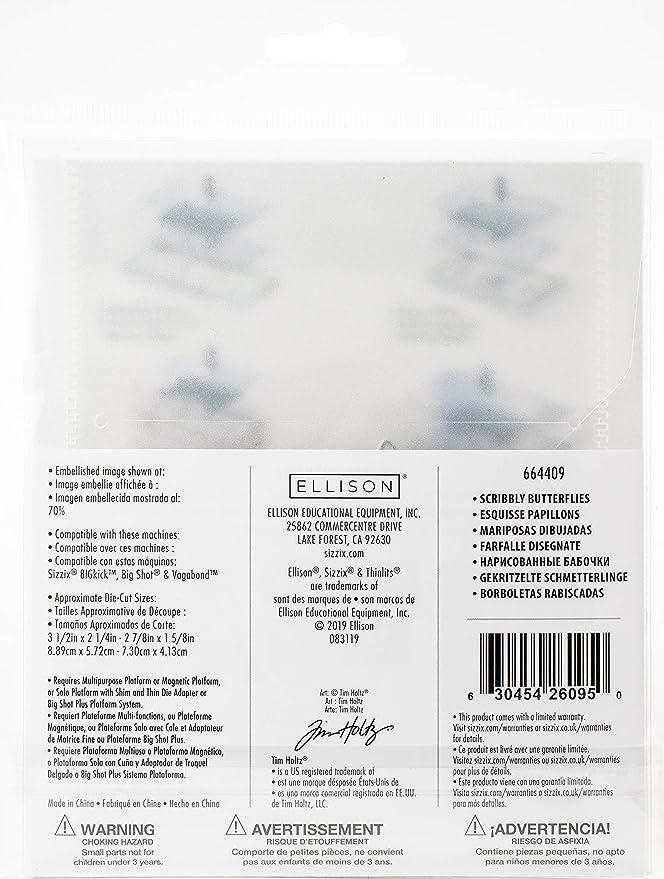 Sizzix Corazón Forma DIE Cutter 6 Tamaños disponibles hasta 13cm