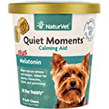 NaturVet Quiet Moments Plus Melatonin