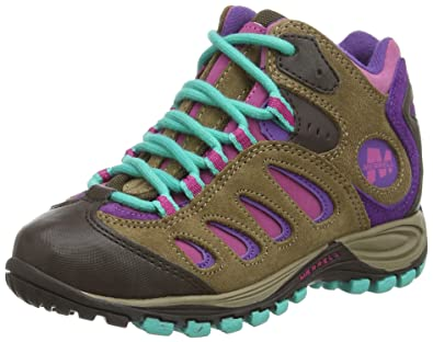 2f8f84333a Merrell Reflex Mid Waterproof, Girl's' Lace-Up Trekking and Hiking ...