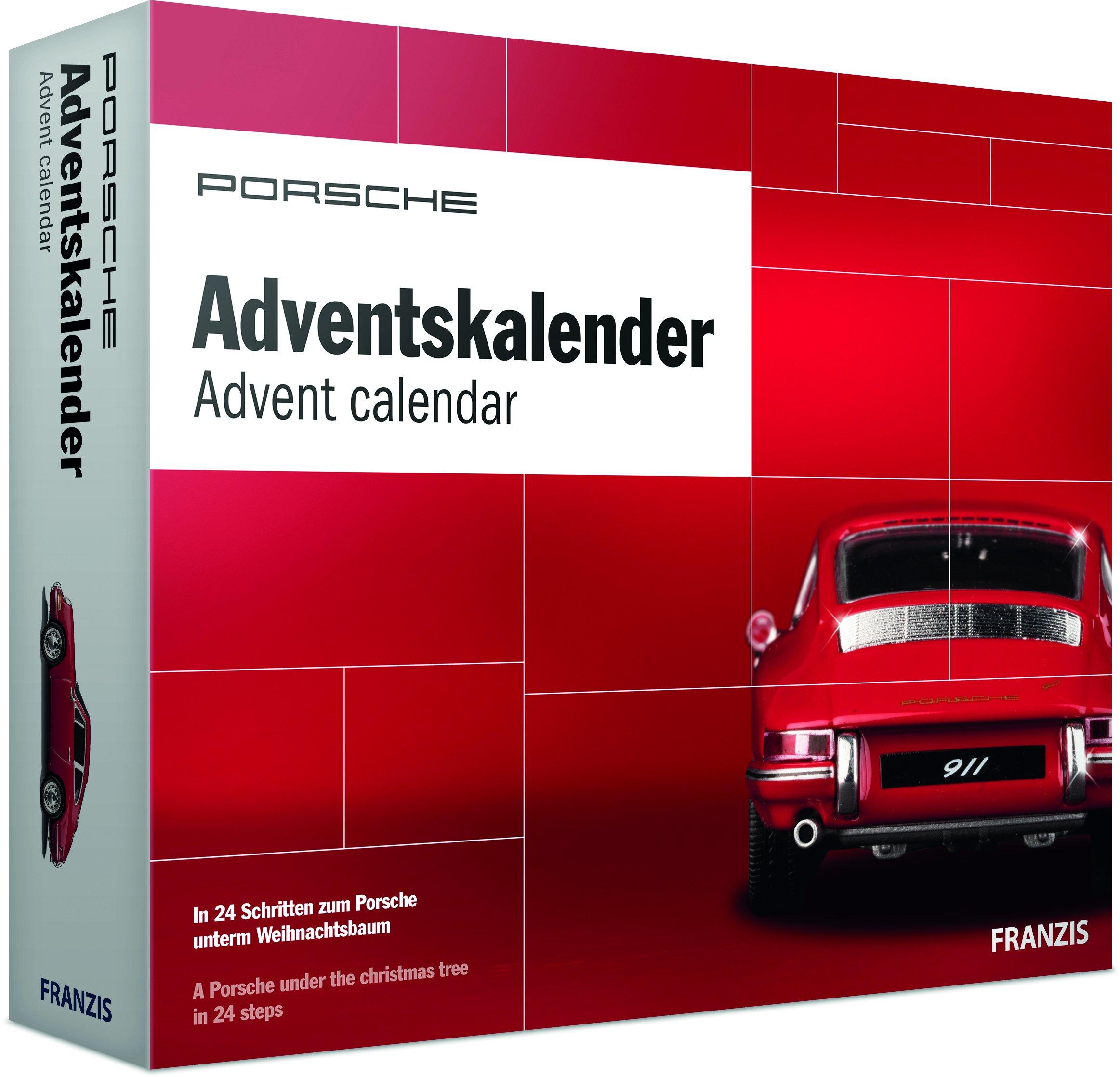 PORSCHE Adventskalender 2018 | In 24 Schritten zum Porsche Modellauto unterm Weihnachtsbaum | Ab 14 Jahren Kalender – 27. August 2018 PORSCHE Museum FRANZIS Verlag GmbH B07B12HRG6 67028-1