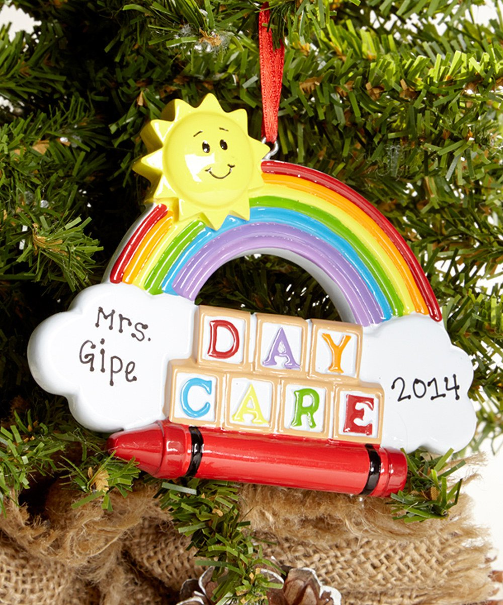 Lawyer christmas ornaments - Amazon Com Daycare Personalized Christmas Tree Ornament Home Kitchen