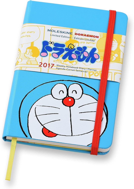 Moleskine Doraemon Agenda Giornaliera, 2017, Edizione Limitata, Tascabile