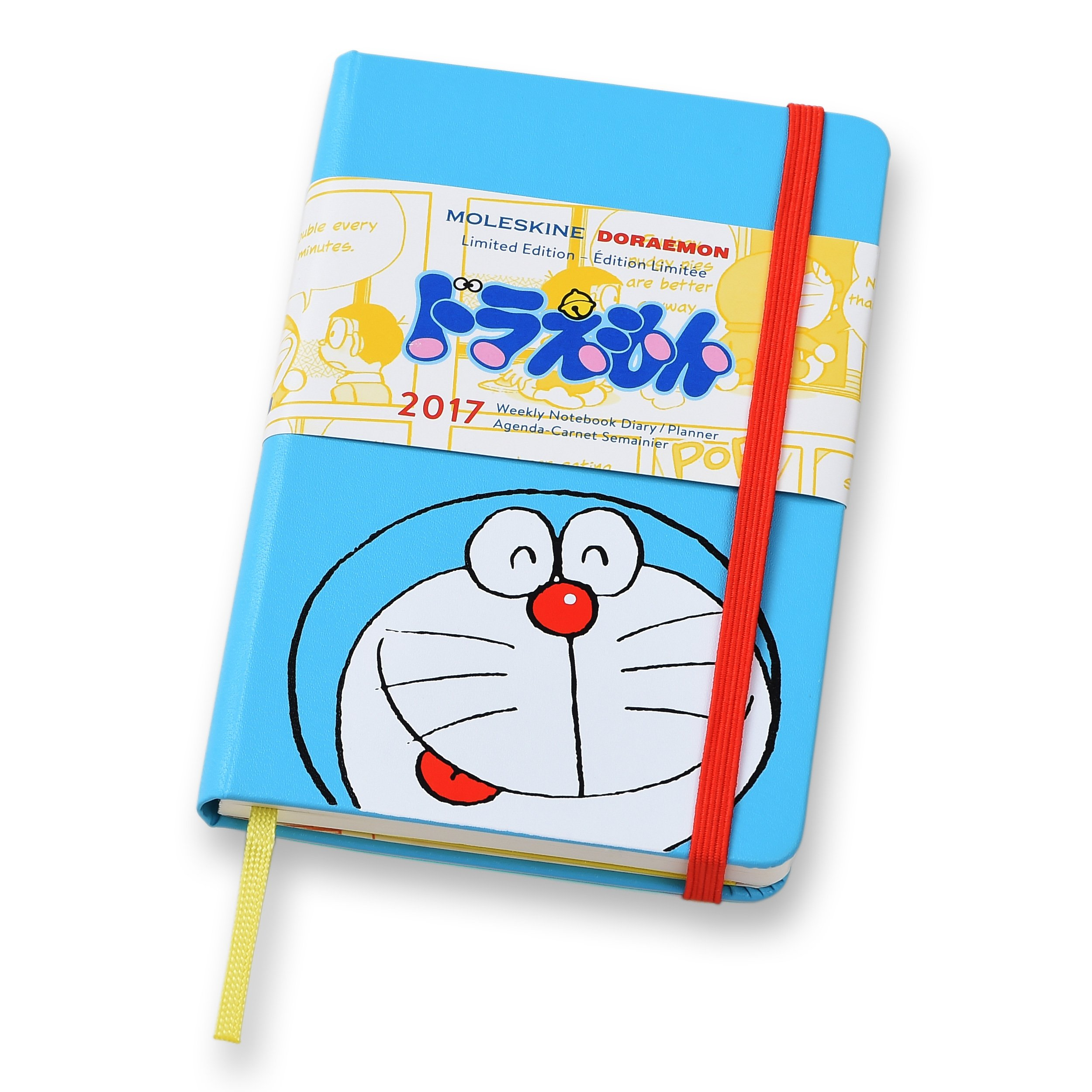 2017 Moleskine Doraemon Limited Edition Pocket Weekly Diary ...