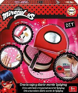 Educa Borrás 17420 DIY Diary Miraculous Lady Bug