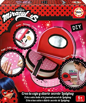 Las aventuras de Ladybug - Diario Secreto (Educa Borrás 17420): Amazon.es: Juguetes y juegos