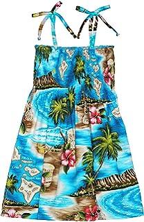 793d9363dab RJC Womens S - XL Hibiscus Hawaiian Island Elastic Tube Top Sundress ...