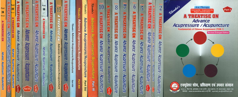 A Treatise on Advance Acupressure/Acupuncture (Set of 22 Volumes) ebook