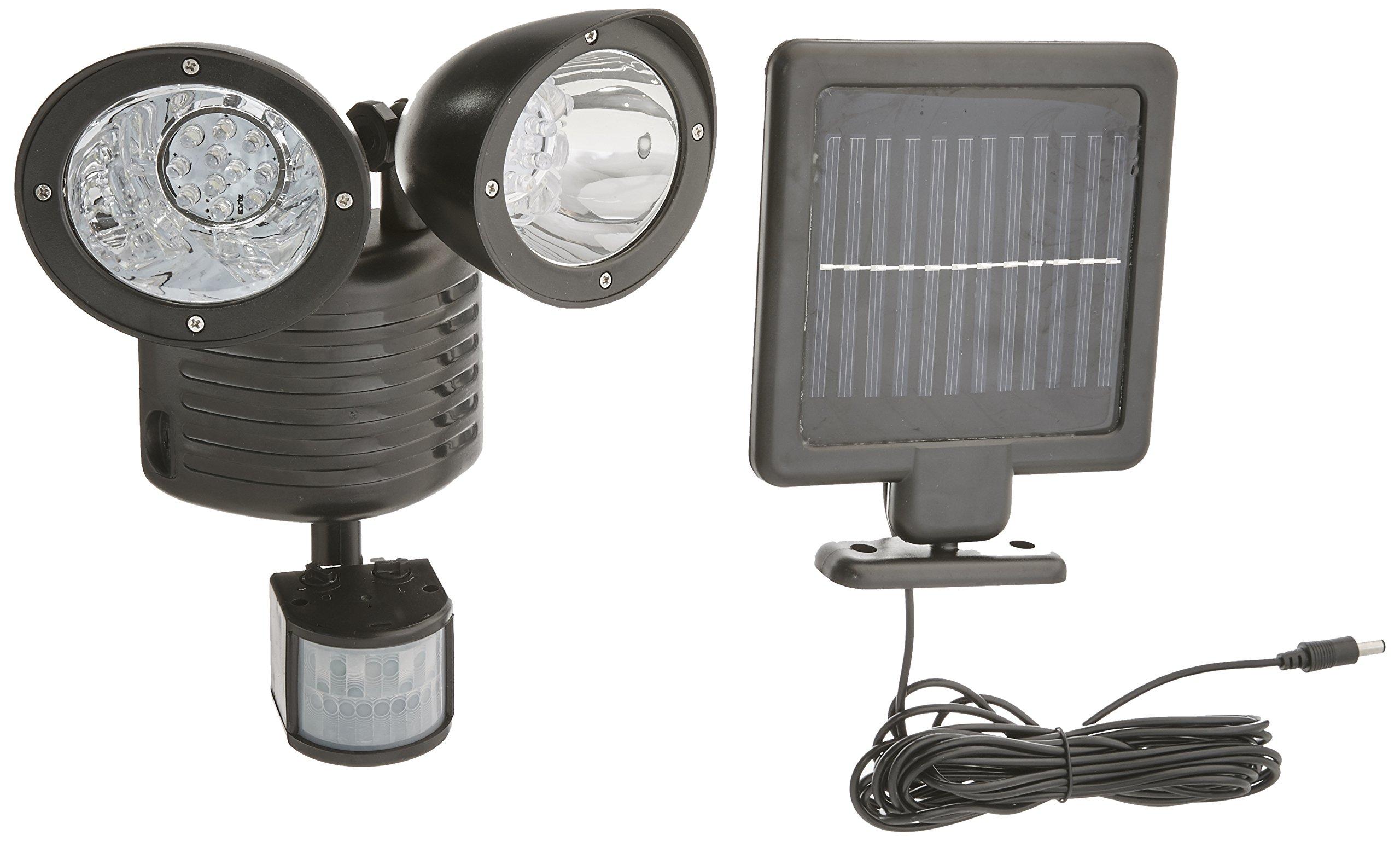 GSL SS E2167B Solar Flood Motion Sensor Security Light