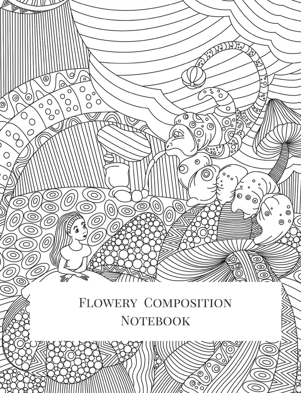 Flowery Composition Notebook: Composition Book, Journal, Cute Notebooks, Cool Notebooks, School Books (7.44 x 9.69) Large, Composition Notebook College Ruled Paper, 100 Sheets pdf epub