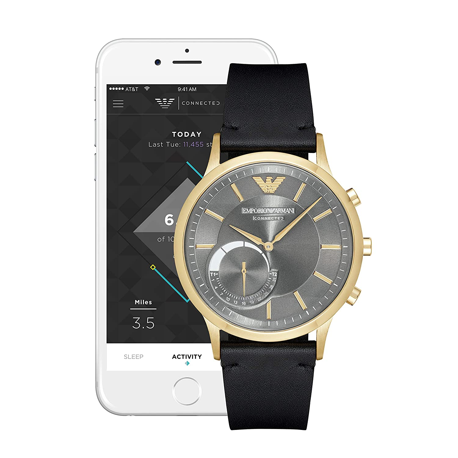 Emporio Armani Connected Smartwatch ART3006: Amazon.es ...