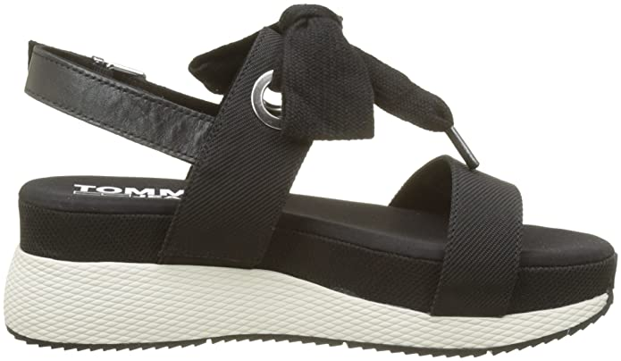 b3d89864bc2 Tommy Jeans Women s Modern Hybrid Sandal Bow Sling Back  Amazon.co.uk  Shoes    Bags