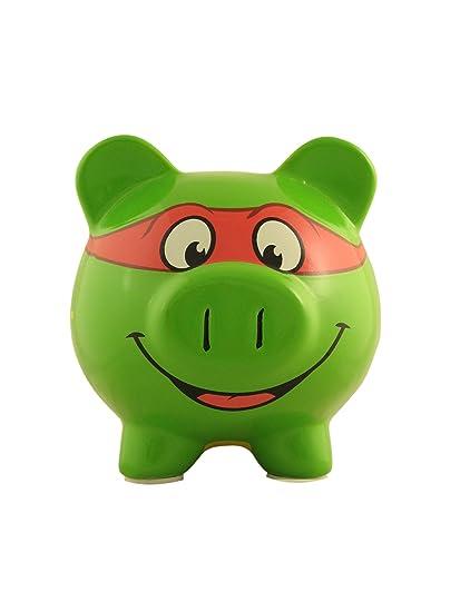 Amazoncom Teenage Mutant Ninja Turtles Tmnt Piggy Bank Toys Games