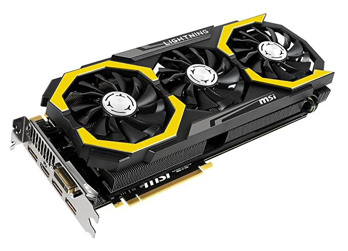 Image result for MSI Computer PCI-Express Video Card Graphics Cards GTX 980TI LIGHTNING