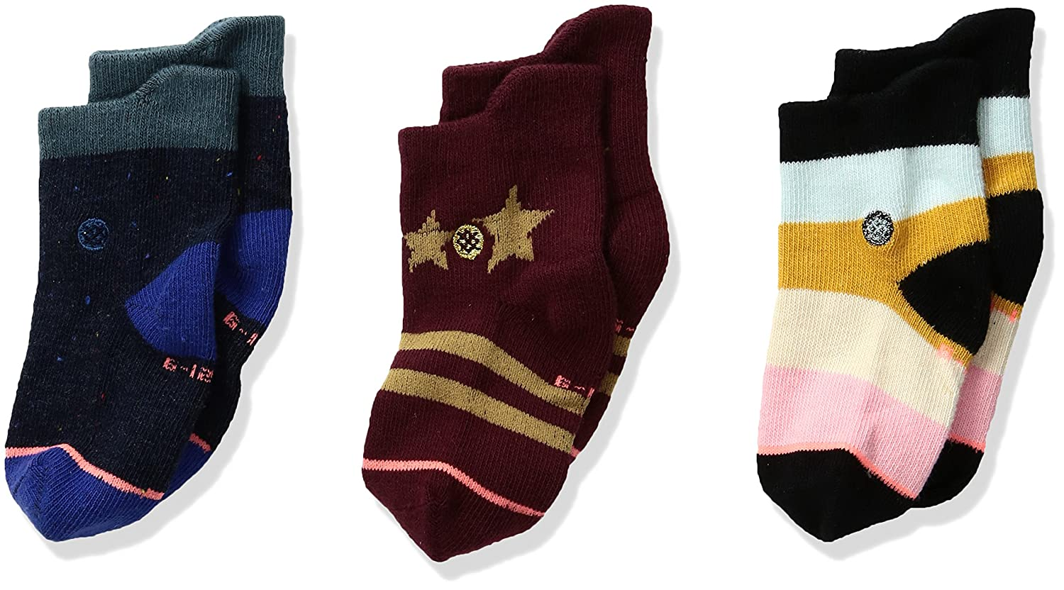 Stance Girls Nalani Stars Stripes Baby Sock Box Set