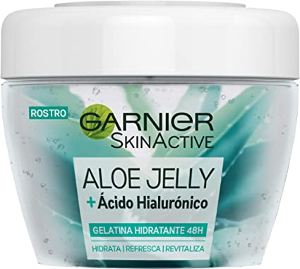 Oferta amazon: Garnier Skin Active Gelatina Aloe Jelly, Hidratante y Refrescante, con Aloe Vera y Ácido Hialurónico para Todo tipo de Pieles - 450 ml