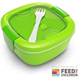 Bentgo  Eco-Friendly & BPA-Free Lunch Container, Large 54 oz, Green